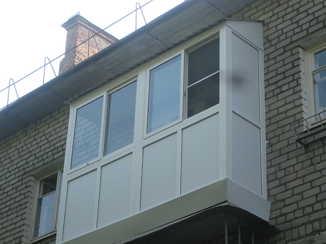Остекление балкона фото - альбом мастера ооо еврострой.
